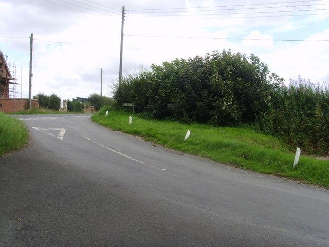 Grub Street  road junction