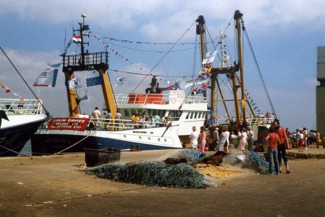 New Trawler at Brixham Harbour