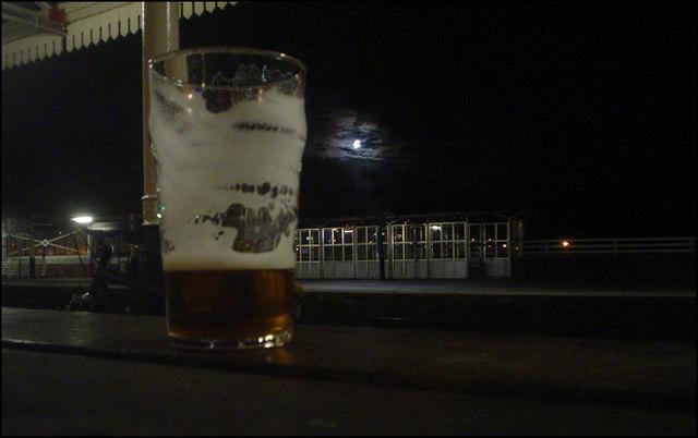 Stalybridge Station and Moon.