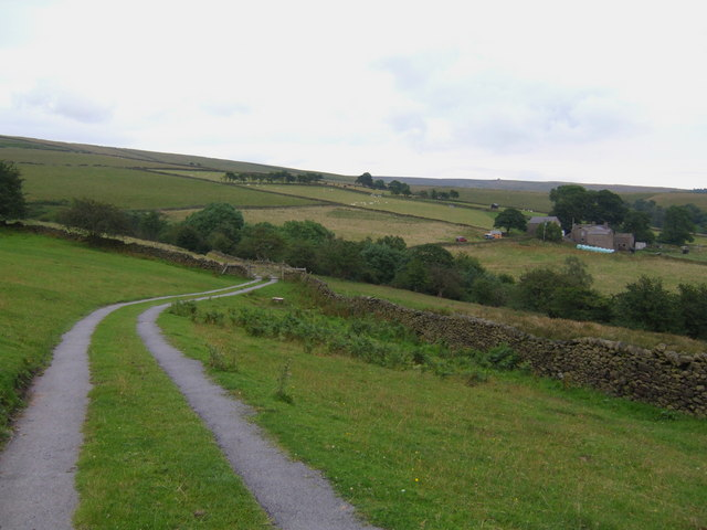 The track to New House Farm