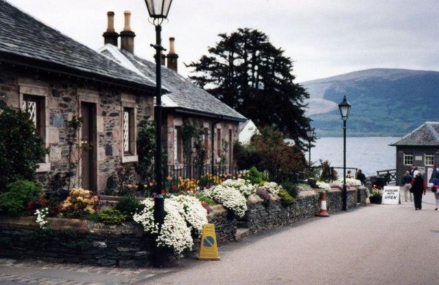 Luss Village at Loch Lomond