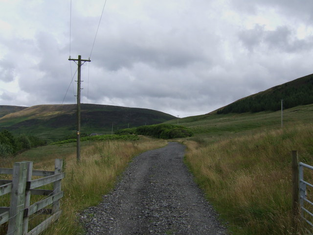 The track to Reaps Farm
