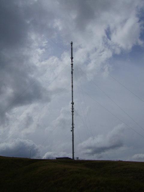 Mast at Holme Moss