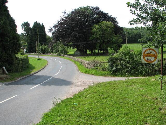 Entrance to Madgett's Farm on the B4228