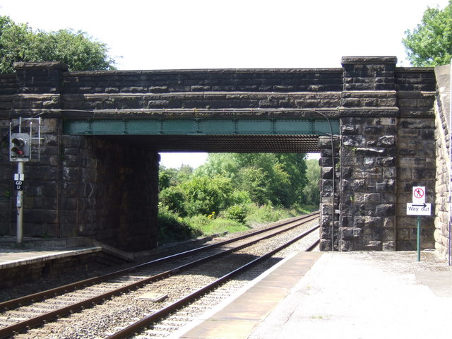 Bridge over the railway at Bamford