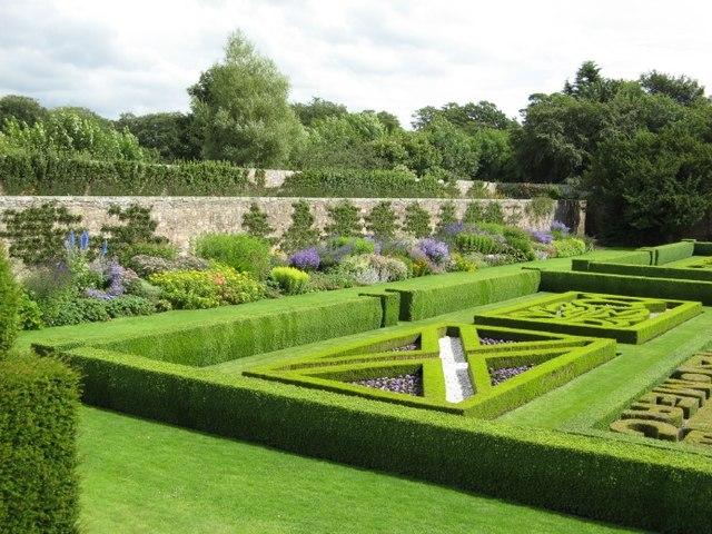 Pitmedden House - part of the Formal Garden
