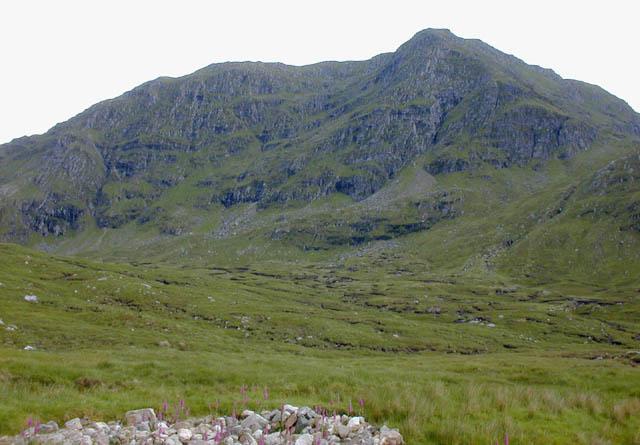 Upper glen of the Allt Breabaig