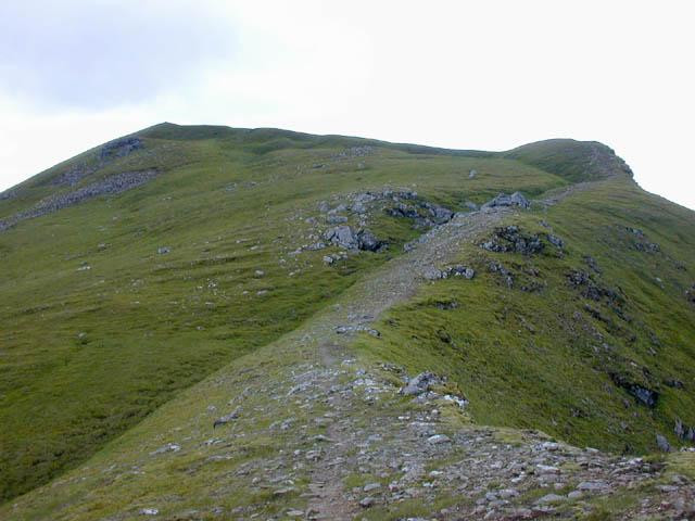 The summit of A' Chailleach
