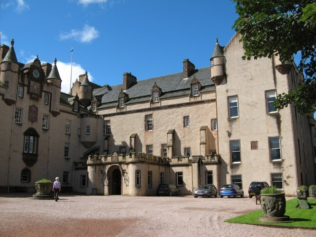 Fyvie Castle Main Entrance