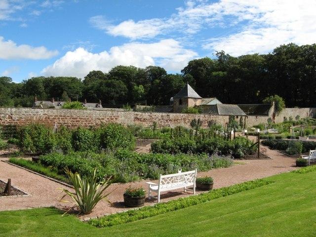 Kitchen Garden Fyvie Castle