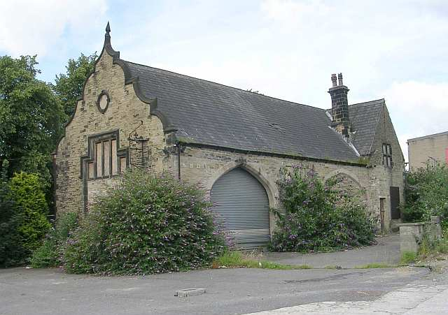 Building in the grounds of Firth's Mill