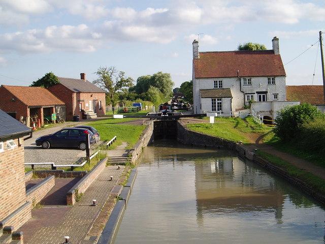 Napton Locks - Oxford Canal