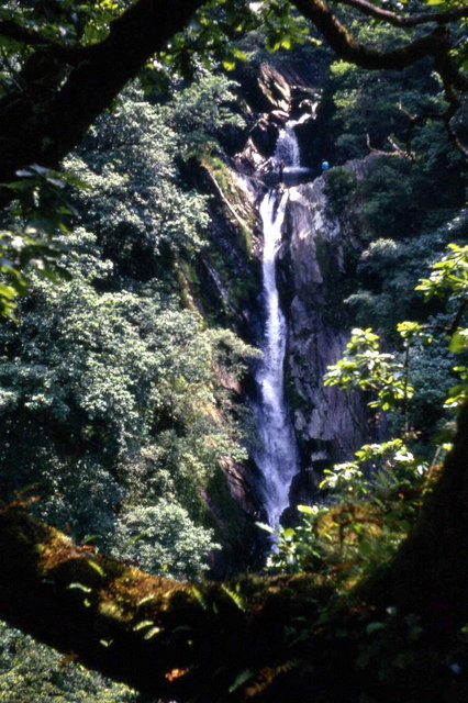 Mynach Waterfall