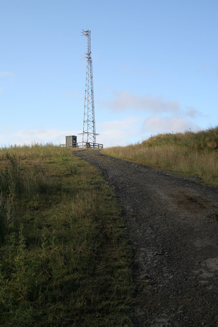 Aerial Mast at Stannersburn