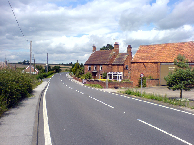 Opton Village looking NW