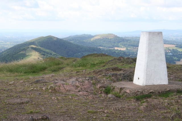 Trig Point on Worcestershire Beacon