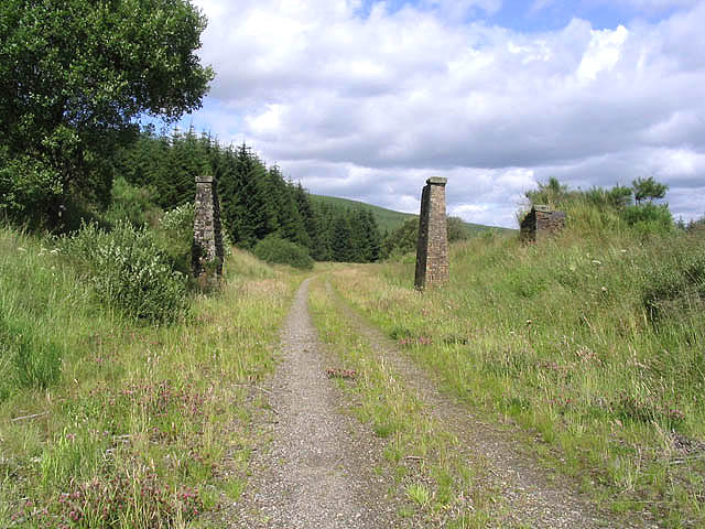 On the route of the former Waverley Railway Line