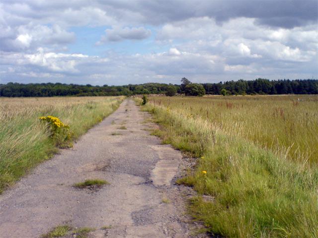 Service road, RAF Ossington