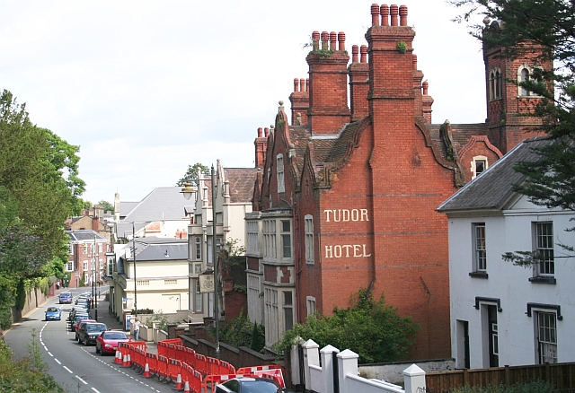 Tudor Hotel, Great Malvern - One of the pioneers of the