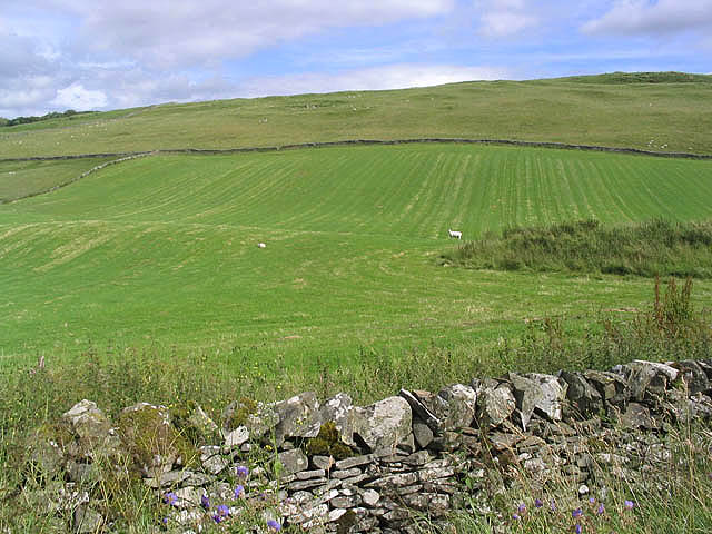 Hill farmland near Ormiston