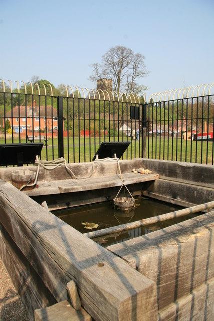 Upwich brine pit, Droitwich