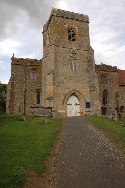 Tower of Sutton under Brailes church