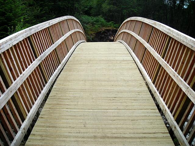 New Bridge in Leanachan Forest