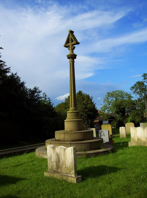 St Andrew's Church, East Heslerton - Memorial