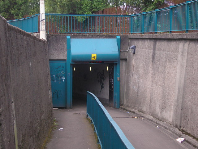 Clyde Tunnel - Southside cycle exit