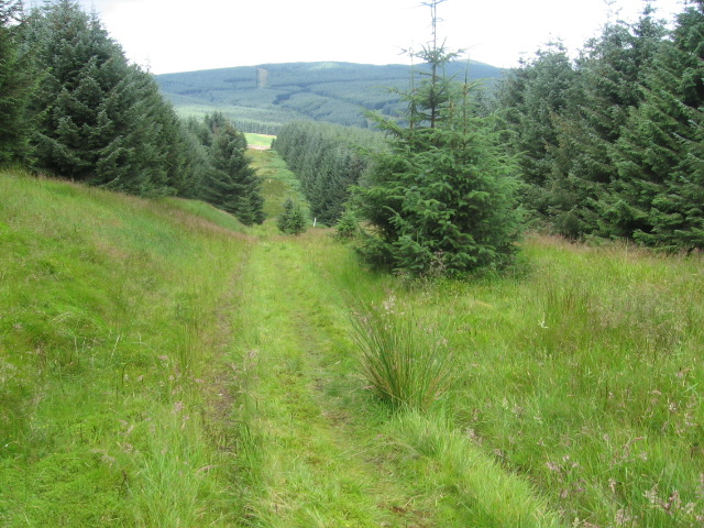 Southern Upland Way at Craig Hill