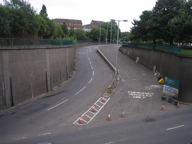 Clyde Tunnel - Govan Road Exit