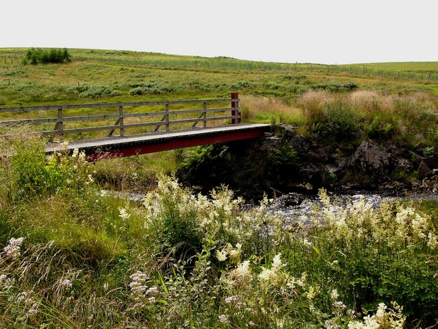 New footbridge over the Tarf