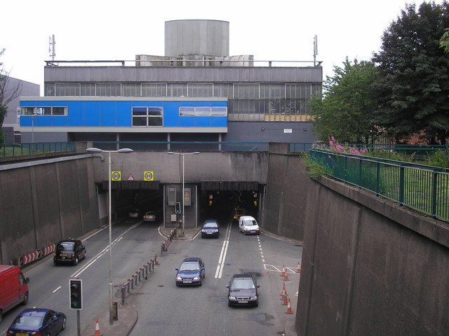 Clyde Tunnel - Northern Entrance and Exit