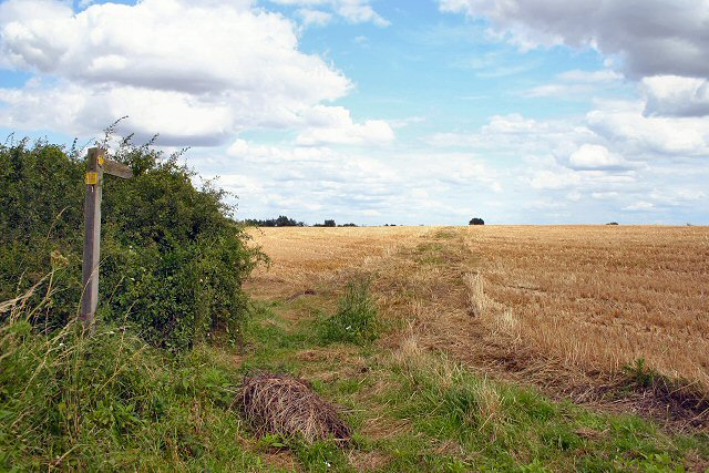 Footpath to Boyton End