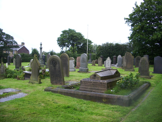 Graveyard, St Paul Church, Withnell