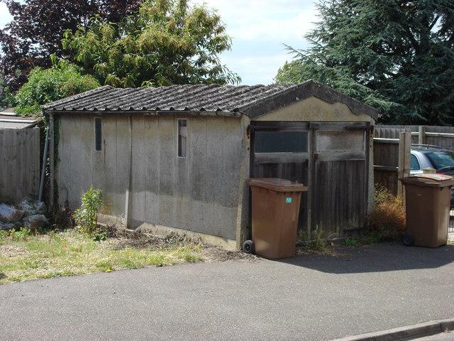 Old Concrete Garage