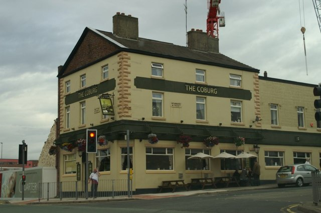 The Coburg pub