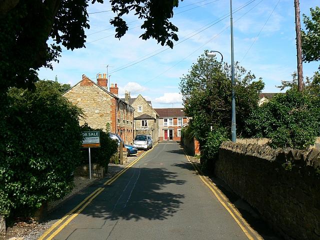 A view along South Street, Swindon