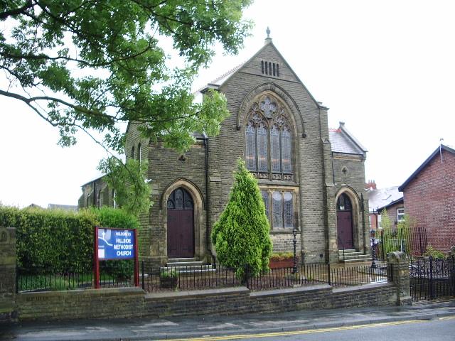 Hillside Methodist Church, Brinscall