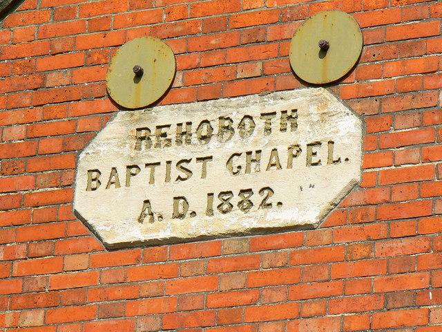 Strict Baptist Chapel, Prospect Hill, Swindon