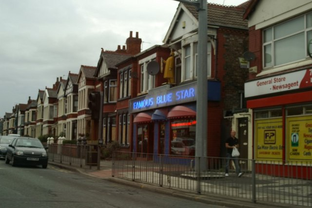 The Famous Blue Star Chippy, Queens Drive, Walton