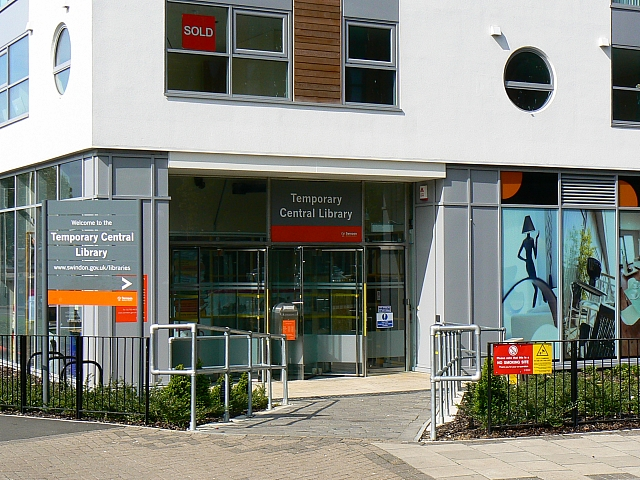 Temporary Central Library, Princes Street, Swindon