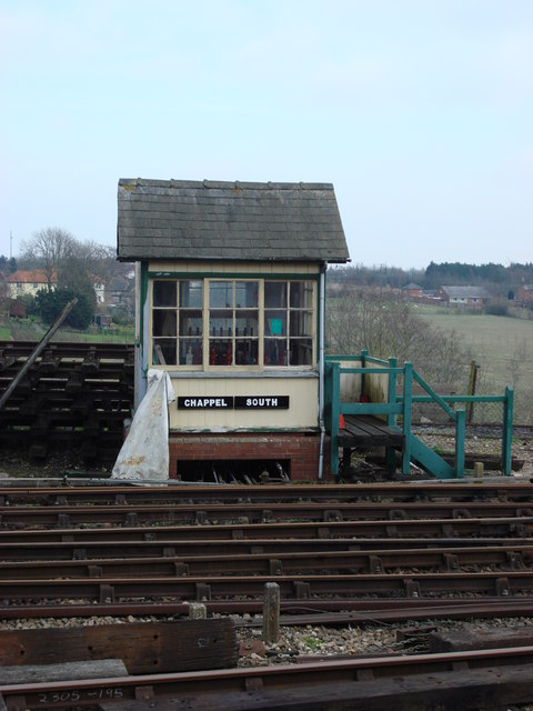 Chappel South Signal Box