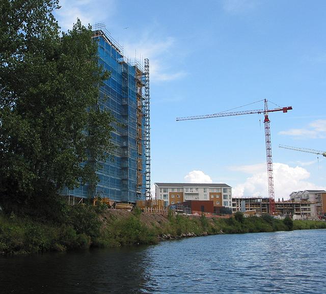 Housing development at Century Wharf
