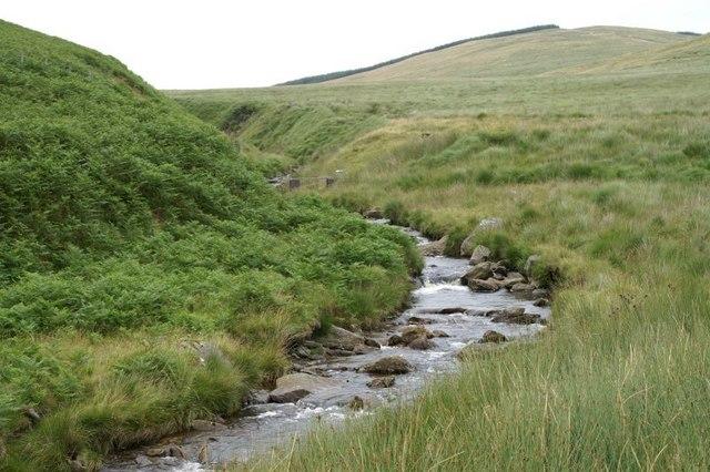The Afon Ystwyth above Cwm Ystwyth