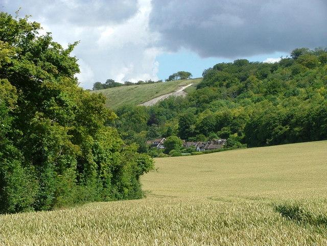 Whiteleaf Cross from the Ridgeway at Risborough