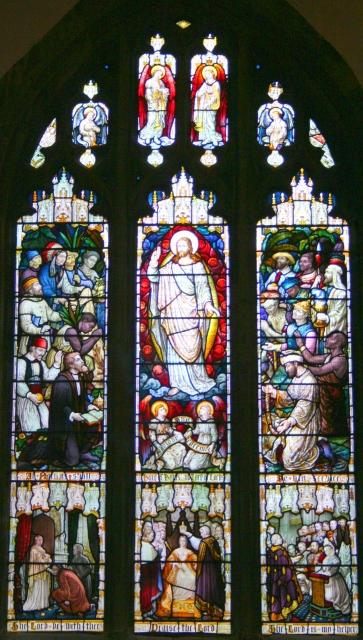 Jubilee Window, Great Malvern Priory