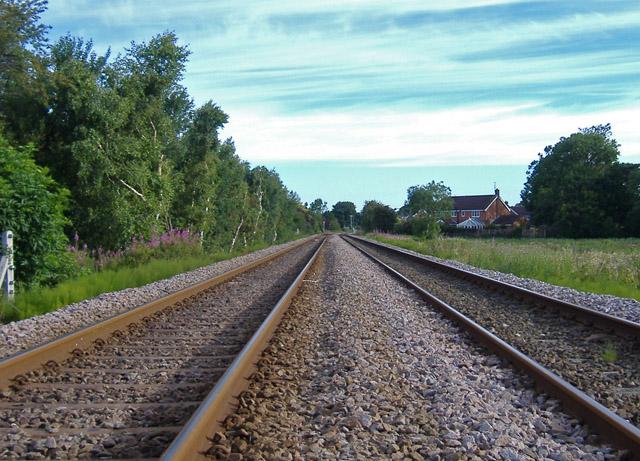Hull-Cottingham railway line