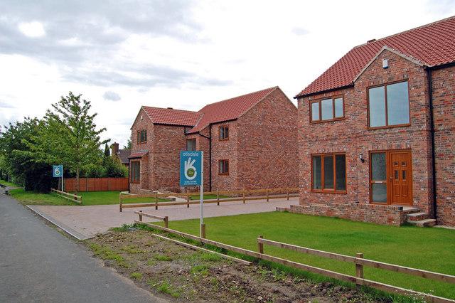 New Development on Manor Road, Adlingfleet