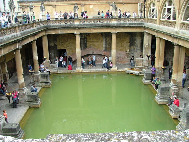 Roman baths, Bath © Peter Jemmett :: Geograph Britain and Ireland